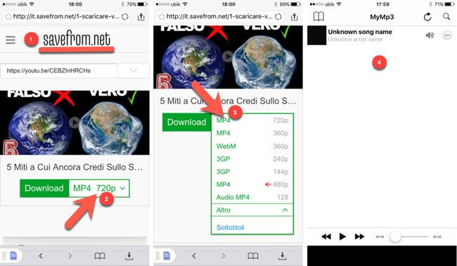 applicazione per scaricare canzoni iphone 5s