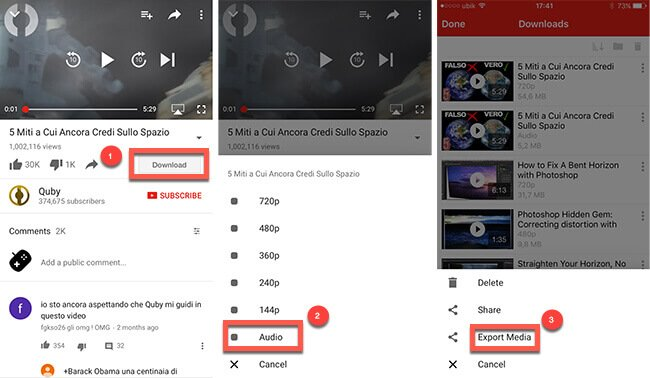 scaricare musica da youtube ios cydia jailbreak