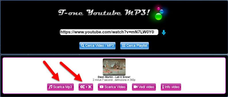scaricare musica da youtube tuttotone