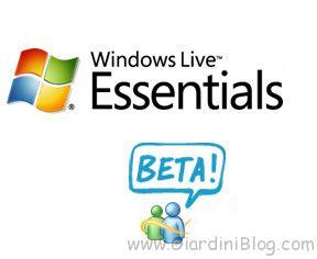 windows live essentials beta