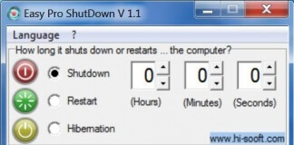 power off timer