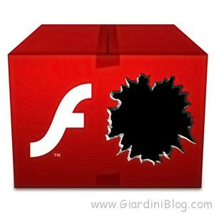 Flash Player vulnerabile