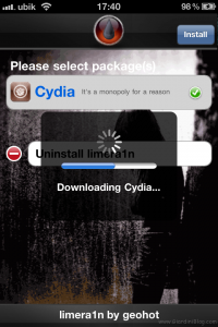 downloading cydia iphone4