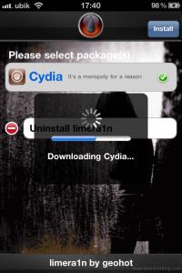 downloading cydia iphone4
