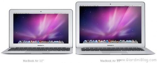 macbook air 11 e 13 pollici