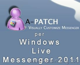 Aggiornamento di A-Patch per Windows Live Messenger 2011