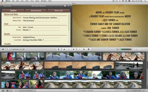 imovie 11 cinema