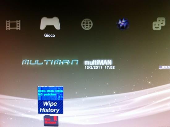game menu multiman