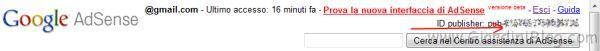 google adsense codice publisher