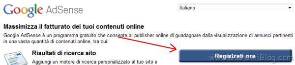 guadagnare online google adsense