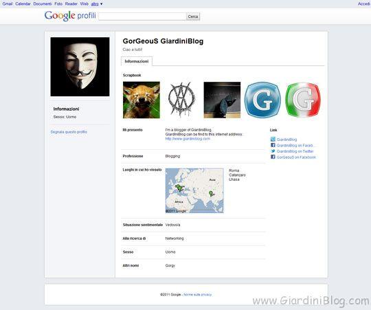 profilo google gorgeous