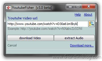 youtubeFisher con link