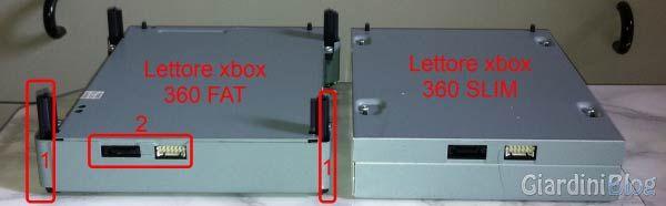 smontare xbox 360 slim