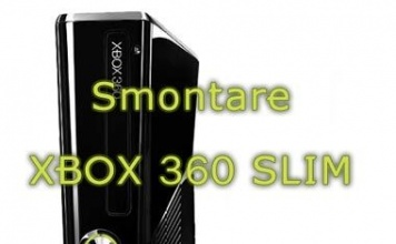 Smontare Xbox 360 Slim, guida con foto e video