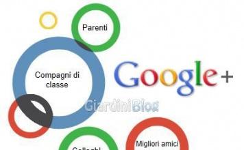 Inviti per Google+