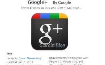 Google+ per Iphone Scarica l'applicazione di Google plus per Iphone