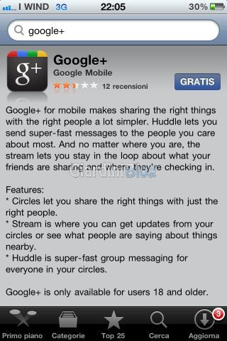 appstore google plus download