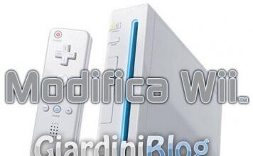 Modifica software Wii - Tutte le versioni - no modchip