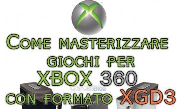 """Come masterizzare giochi per Xbox 360 con formato XGD3 metodo """"Truncate"""""""