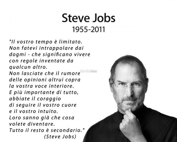 Il mondo ha perso un Genio. Addio Steve.