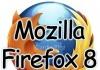 Download Mozilla Firefox 8 versione finale