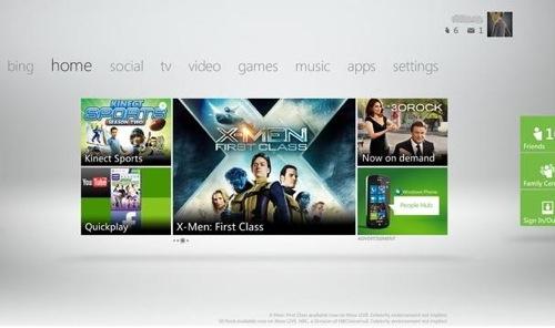 Xbox 360 Dashboard 14699 2