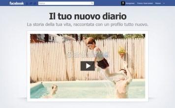 Inizia la diffusione del nuovo profilo diario di Facebook (timeline)
