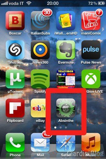 absinthe iphone 4s