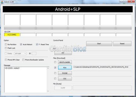 Aggiornare Samsung Galaxy S 2 GT-I9100 ad Android 4.0 ICS 2