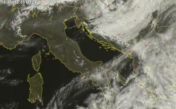 Vedere immagini satellitari del meteo in tempo reale