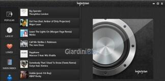 Ascoltare musica gratis con Hypegram