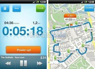 applicazione android RunStar corsa ciclismo