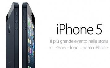 Presentato iPhone 5 : caratteristiche, novità, prezzi