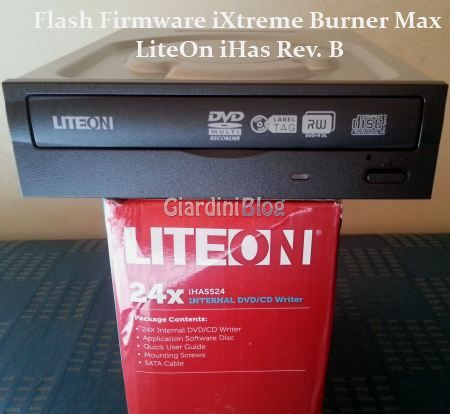 Xbox 360: Guida Flash Firmware iXtreme Burner Max per LiteOn