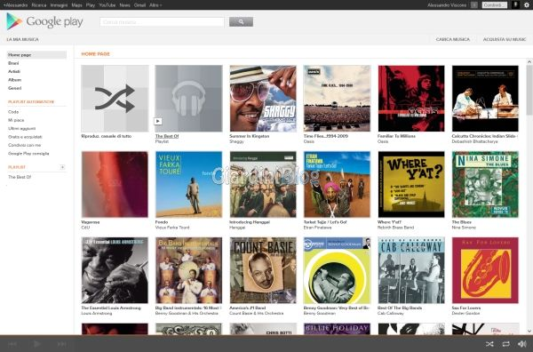 google play la mia musica