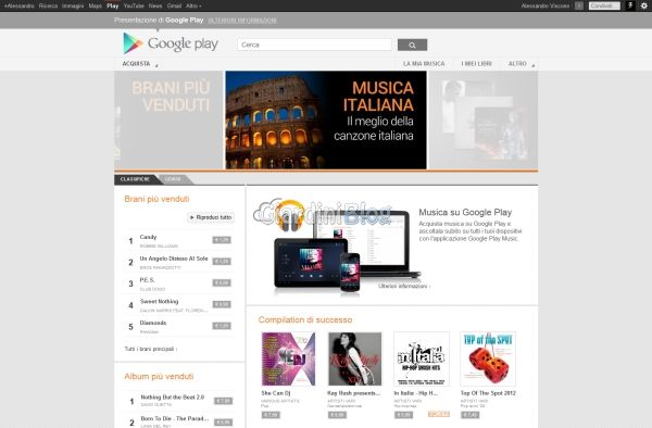 google play music home