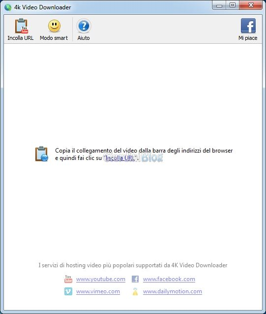 4kdownloader interfaccia