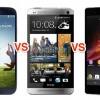 Samsung note vs htc one maX vs sony honami