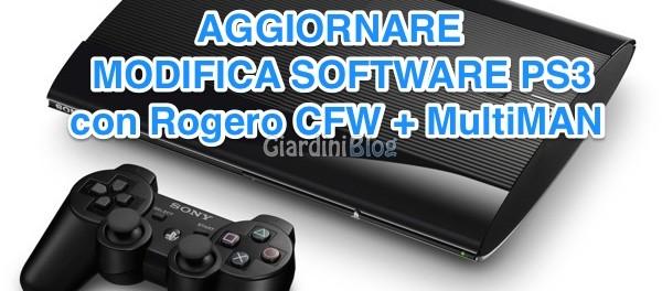 Aggiornare PS3 Rogero Multiman