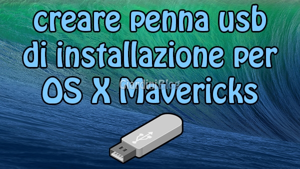 Mavericks usb