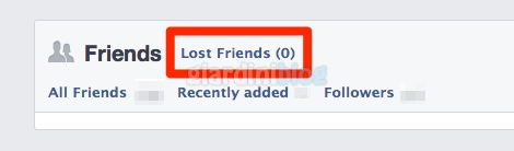 amici persi su facebook