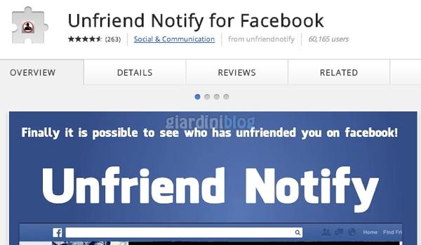 chi ti cancella da facebook
