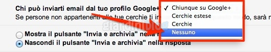 google plus mail