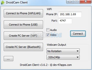 droidcam client windows