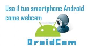 webcam android droidcam