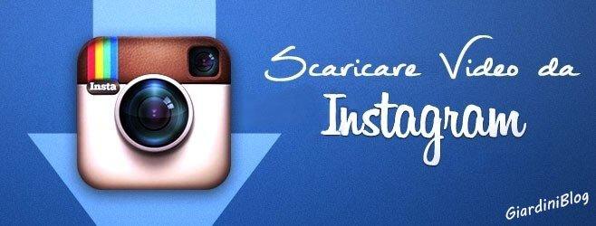 download video da instagram