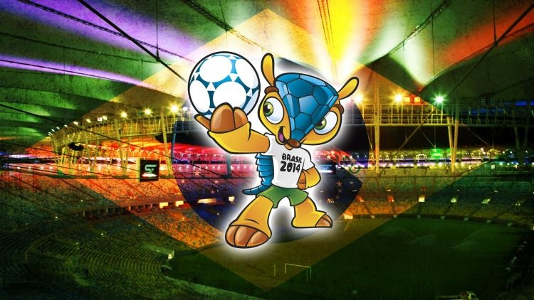 Fuleco Armadillo 2014 World Cup Mascotte
