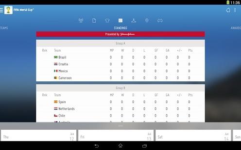 fifa app 2014