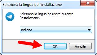 lingua telegram italiano