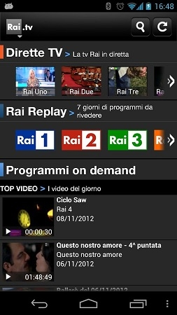 rai tv android